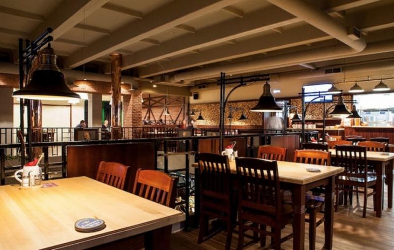 Ресторан Caspary Brau ( торшеры, светильники )