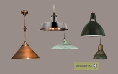 Подвесные светильники любой формы и отделки на заказ